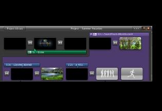 Imagem de um trailer convertido no navegador de projectos.