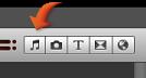 """Imagem do botão """"Música e efeitos sonoros"""""""