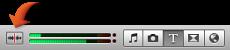 Imagem do botão de exploração de áudio