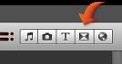 Imagem do botão Transição