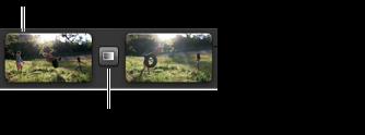 Imagem do efeito de piscar e manter, no navegador de projectos