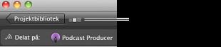Podcast Producer-symbolen.