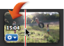 En tidskod på ett videoklipp