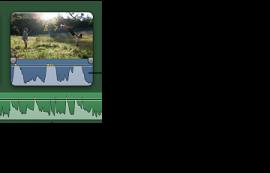 藍色和綠色波形的影像