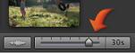 剪輯片段滑桿的影像