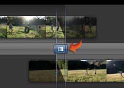 """""""精確度編輯器""""中過場效果圖像的影像"""
