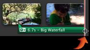 調整大小指標的影像。