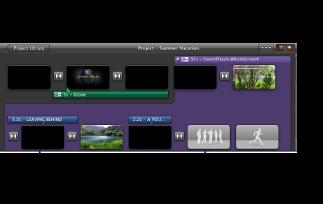 """""""計畫案""""瀏覽器中已轉換預告片的影像。"""
