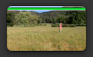 最上方帶有綠線之剪輯片段的影像