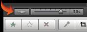 """""""音訊波形""""按鈕的影像"""