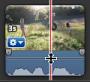 藍色波形的音量列影像