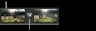 """在""""計畫案""""瀏覽器中閃動並保持最後一個影格的影像"""
