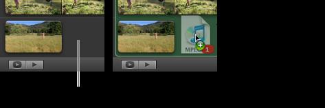 背景音樂框的影像。