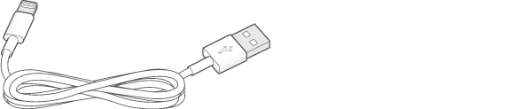 Lightning-auf-USB-Kabel