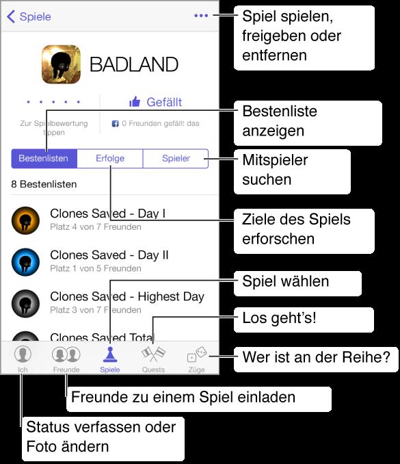 Wie man das Game Center Passwort auf dem iPhone ändert