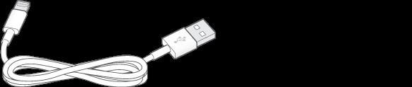 Kablloja lidhëse Lightning - USB