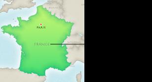 Obrázek mapy s textem oblasti