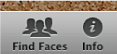 Image of Find Faces button