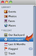 Image of Last Import icon