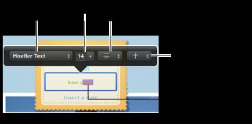 Изображение инструментов форматирования текста