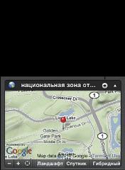 Изображение кнопки «Показать в Местах»
