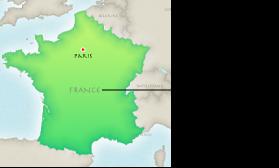 Изображение карты с подписями регионов