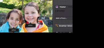 Yüzler için adsız etiketinin görüntüsü