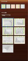 Tasarım bölümünde sayfa yerleşimi araçlarının görüntüsü