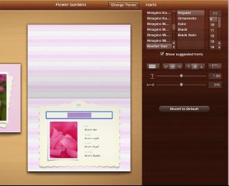 """""""设计""""面板中出现的文本编辑工具的图像"""