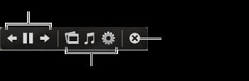 幻灯片显示控制的屏幕快照