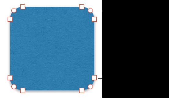 Фігури з точками для редагування