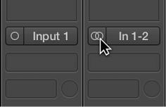 Figure. Side-by-side of mono and stereo input format.