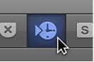 Figure. Control bar Sync button.