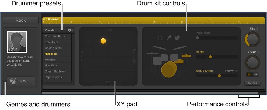 Figure. Drummer Editor.