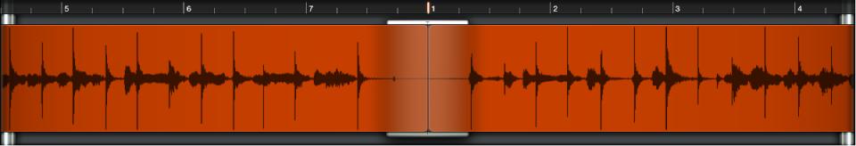 Ilustración. Área de visualización de onda.