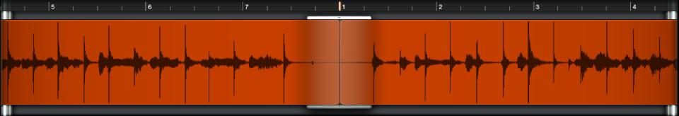 図。 波形ディスプレイ。
