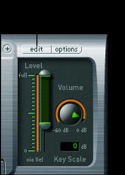 """图。 显示""""编辑""""按钮的 EXS24 插件窗口。"""