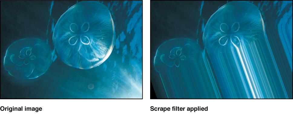 """Canvas mit dem Effekt des Filters """"Verwischen"""""""