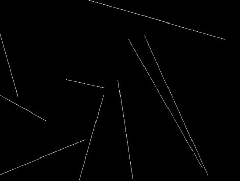 """Canvas mit einem Replikator, für den der Vorschaumodus """"Linien"""" festgelegt wurde."""