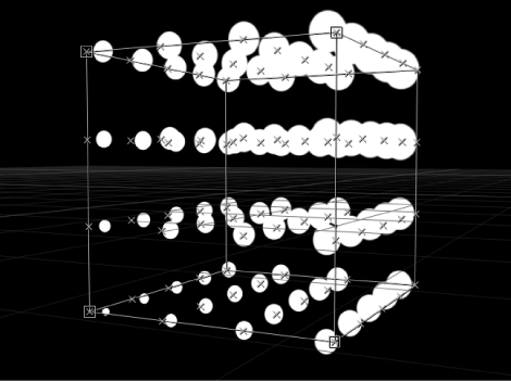 """Canvas mit Replikator, bei dem der Parameter """"Ursprung"""" auf """"Hinten oben rechts"""" eingestellt ist."""