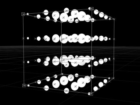 """Canvas mit Replikator, bei dem der Parameter """"Ursprung"""" auf """"Y-Achse"""" eingestellt ist."""