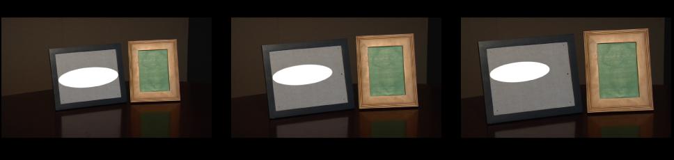"""Canvas mit einem Objekt und Tracking nur nach """"Position""""."""