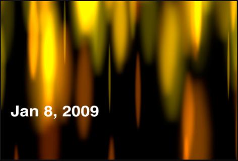 """Canvas mit dem Generator """"Uhrzeit Datum"""", der nur das Datum anzeigt"""