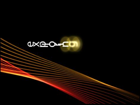 Canvas mit Text in einem Winkel von 90 Grad im Verlauf der gesamten Animation.