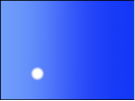 Canvas mit einem Partikelsystem bei Bild 1.