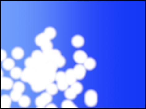 Canvas mit einem Partikelsystem bei Bild 30.