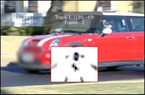Canvas mit vergrößertem Inset, das eingeblendet wird, wenn ein Tracker bewegt wird.