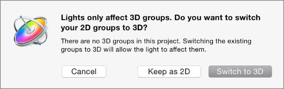 Wechseln zur 3D-Darstellung.