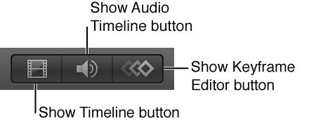 Timeline-Darstellungssteuerelemente.