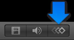 Taste zum Anzeigen des Keyframe-Editors unten rechts im Motion-Fenster.
